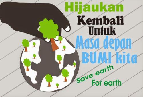 Contoh Gambar Poster tentang Lingkungan