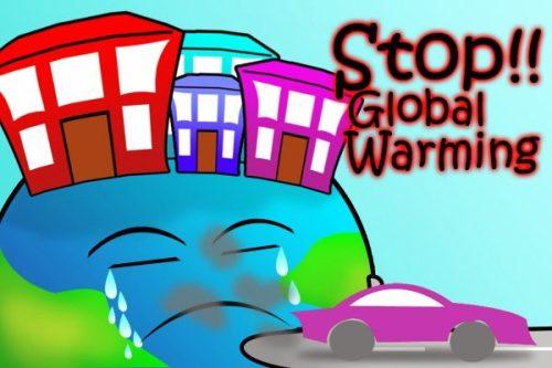Poster tentang Pemanasan Global