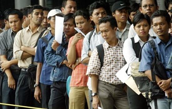 Tingginya angka pengangguran adalah Ciri-ciri Negara Berkembang