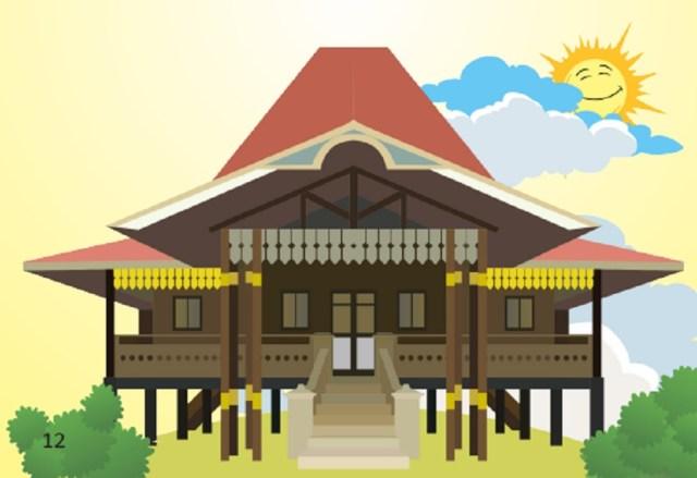 Rumah Adat Bengkulu Ciri Khas Dan Keunikannya Gambar