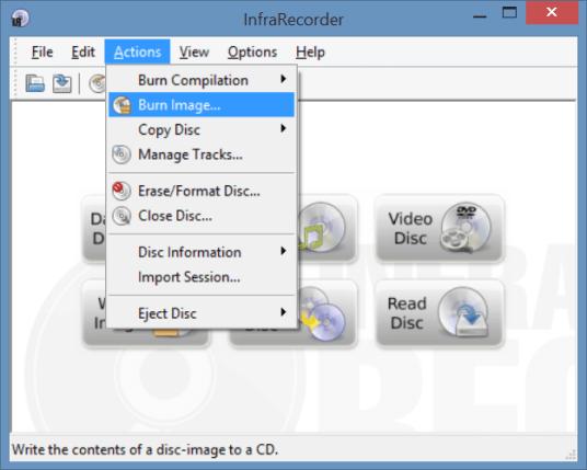 Download InfraRecorder Terbaru