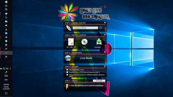 Download LinuxLive USB Creator