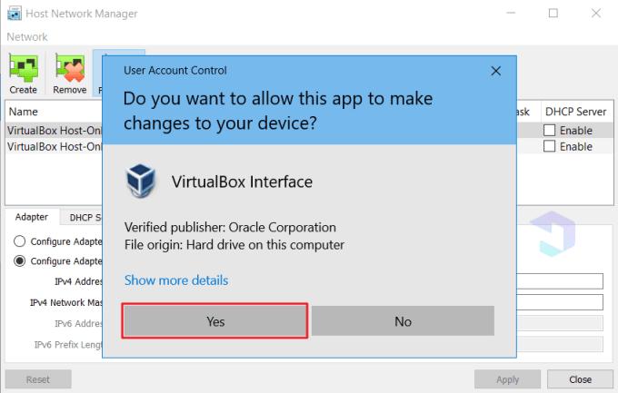 Cara Mengatasi Host-only Adapter Error di VirtualBox 4