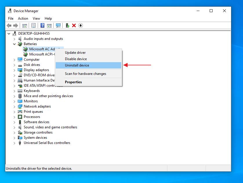 Cara Mengatasi No Battery is Detected Melalui Device Manager