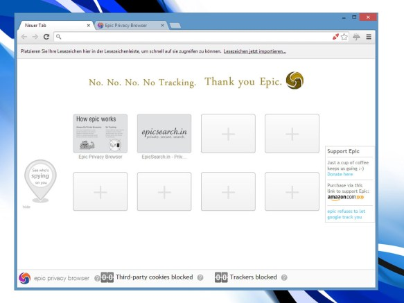 Download Epic Privacy Browser
