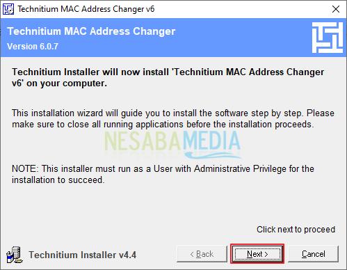 Cara Mengganti mac address di laptop
