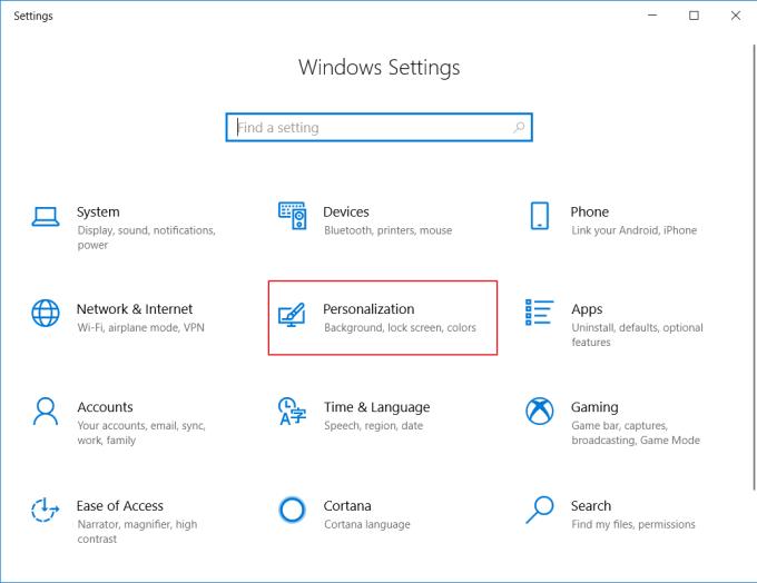 Mengubah Warna Tampilan Windows 10 - Langkah 3