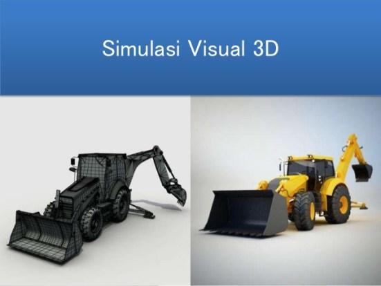 Simulasi Visual 3 Dimensi