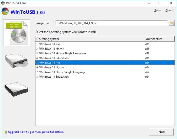 Download WinToUSB Terbaru