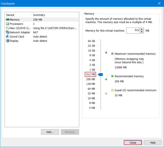 Cara Install OS Linux di VMware