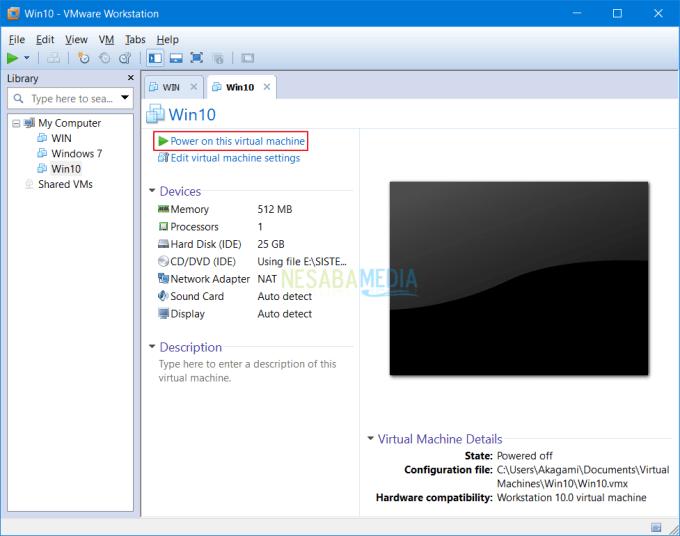Install Sistem Operasi di VMware 12