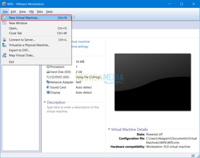 Install Sistem Operasi di VMware 2