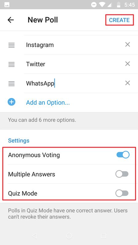 Membuat Polling Di Telegram - Nesabamedia 4