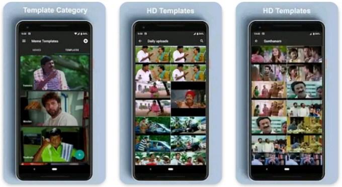 Aplikasi Membuat Meme untuk Android Meme Creator & Templates Tamil