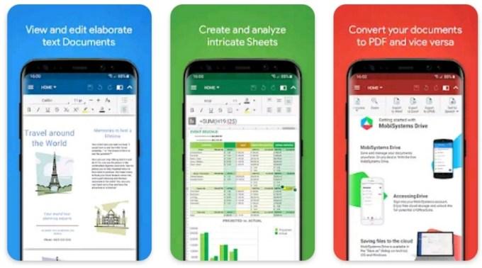 Aplikasi Untuk Presentasi Android Selain Powerpoint - OfficeSuite