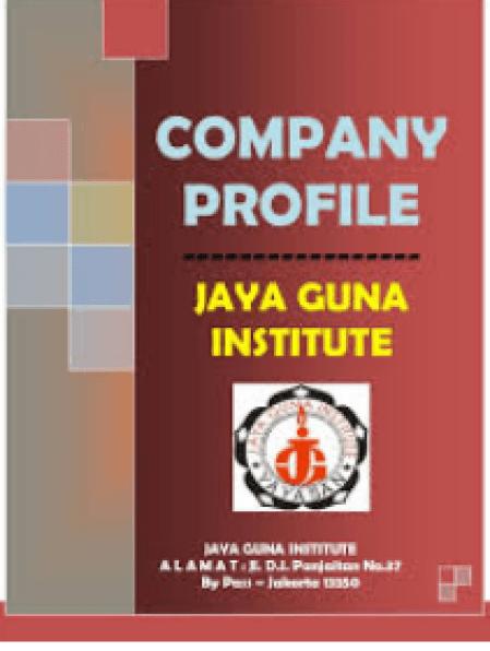 Contoh Company Profile Berkesan Karakter Kuat dan Kekinian