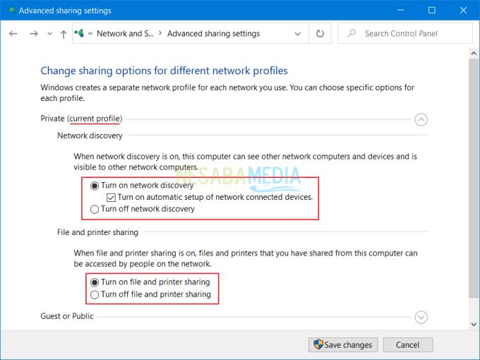 Setting Agar Folder Tersebut Dapat Diakses PC Lain 5