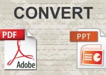 Cara Mengubah PowerPoint ke PDF