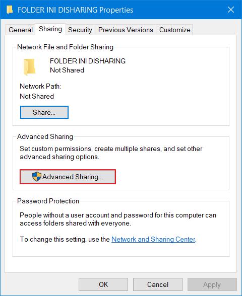 mengatasi windows cannot access 2