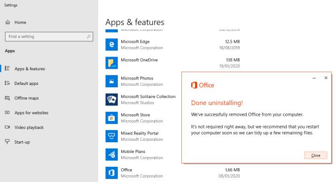 Cara Uninstall Microsoft Office 2010