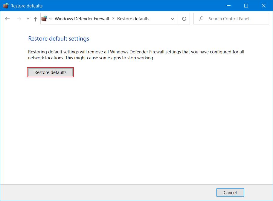 default settings 2