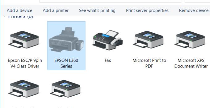 Cara Add Printer di Windows 10