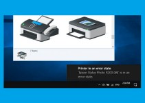 Cara Mengatasi Printer in an Error State di Windows