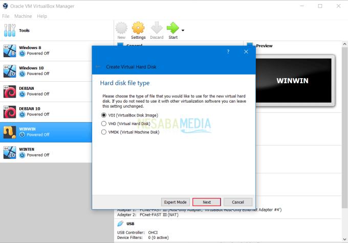Install RouterOS Mikrotik di VirtualBox 5