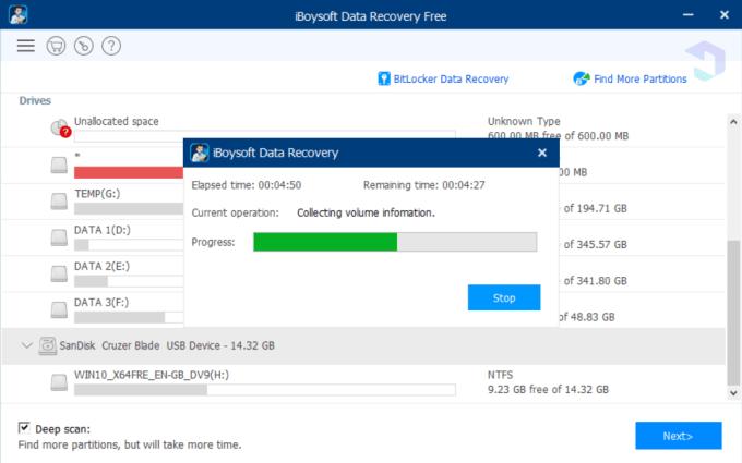 Menggunakan iBoysoft Data Recovery 2