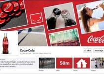 Mark Zuckerberg Coca-Cola Facebook Fan Page