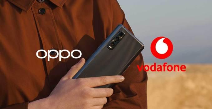 Oppo Bermitra dengan Vodafone untuk Ekspansi Pangsa Eropa