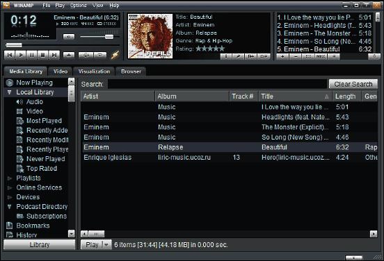 Aplikasi Pemutar Musik untuk PC