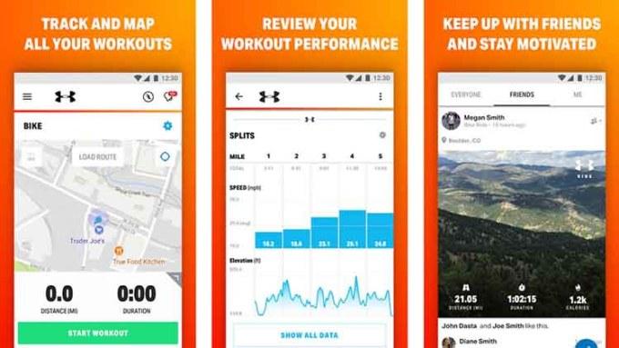Aplikasi MapMyRide