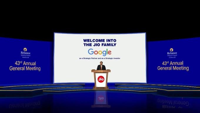 Kerjasama Jio dan Google