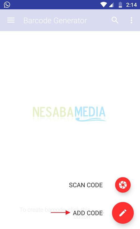 Membuat barcode di HP - Nesabamedia 3