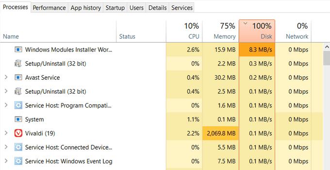 Cara Mengatasi Disk 100% Windows