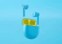 OnePlus Buds Warna Biru True Wireless Earphone