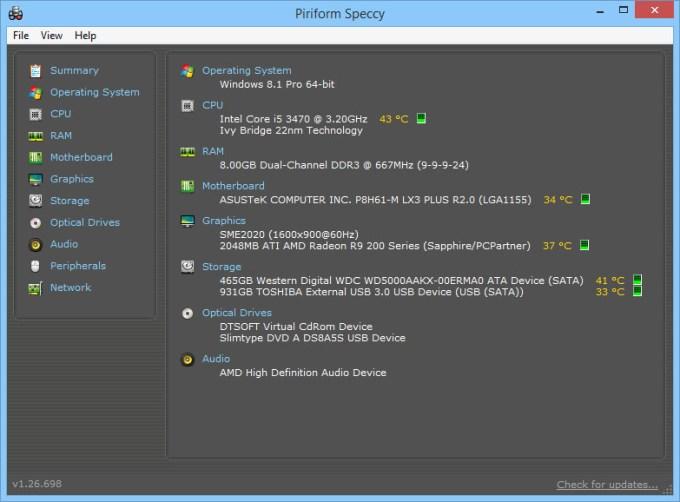Aplikasi Untuk Cek Spesifikasi Laptop / PC