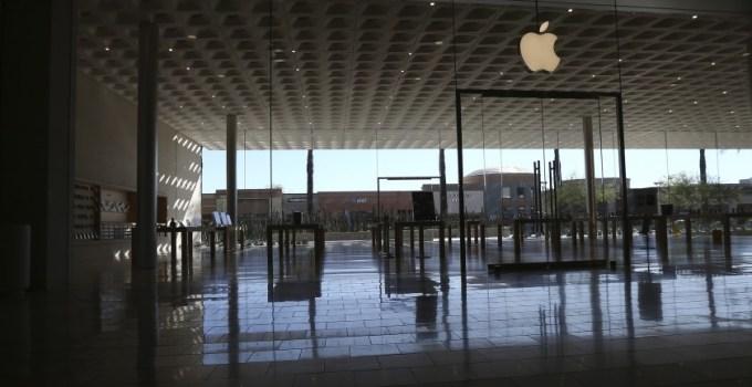 apple tutup toko akibat lonjakan kasus covid-19