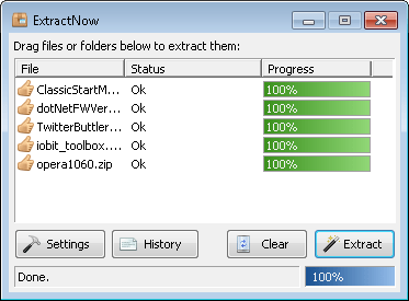 Aplikasi Ekstrak File RAR / ZIP di PC Windows