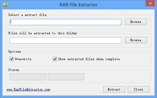 Aplikasi Ekstrak File RAR / ZIP di PC / Laptop