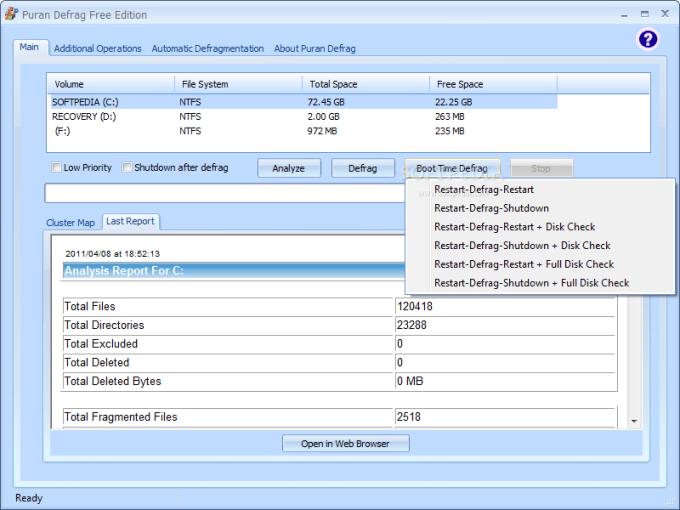 Aplikasi Defrag Hardisk di PC / Laptop