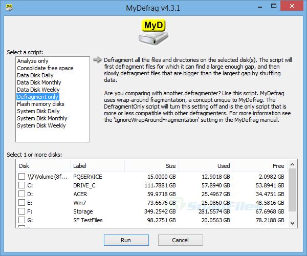 Aplikasi Defrag Hardisk di PC / Laptop Windows