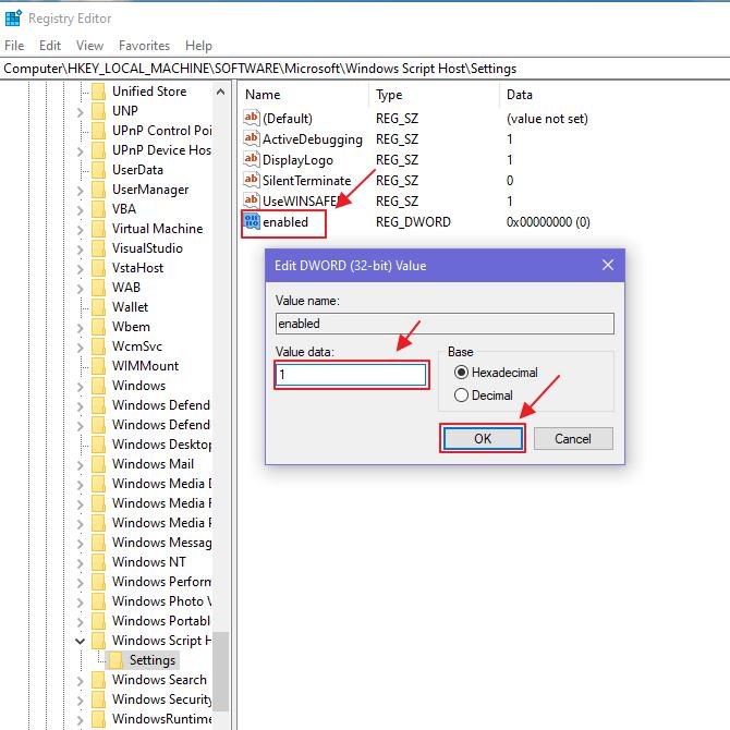 Cara Mengatasi Windows Script Host Access is Disabled di Windows 10