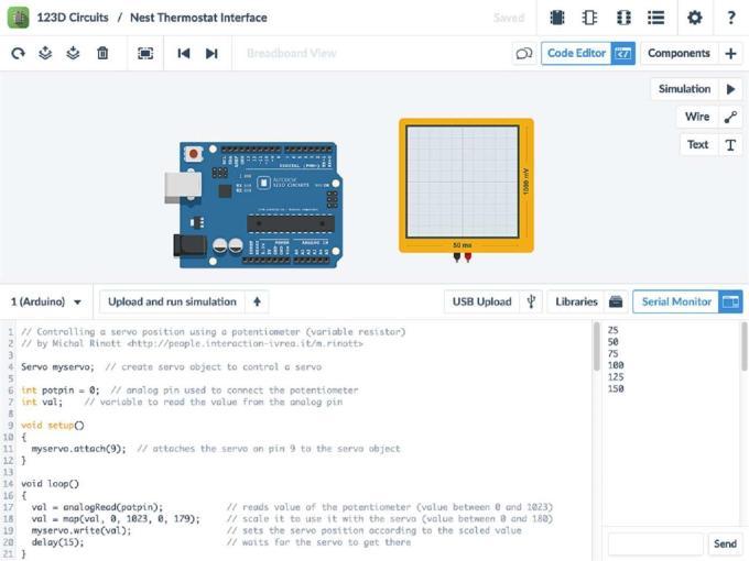 Aplikasi Simulasi Arduino di PC