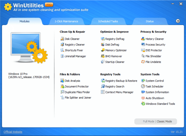 Download WinUtilities Registry Cleaner Terbaru