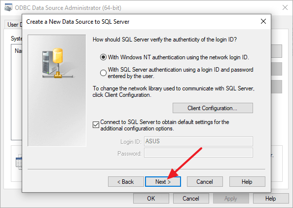 Cara Setting ODBC di Windows 10 64 Bit