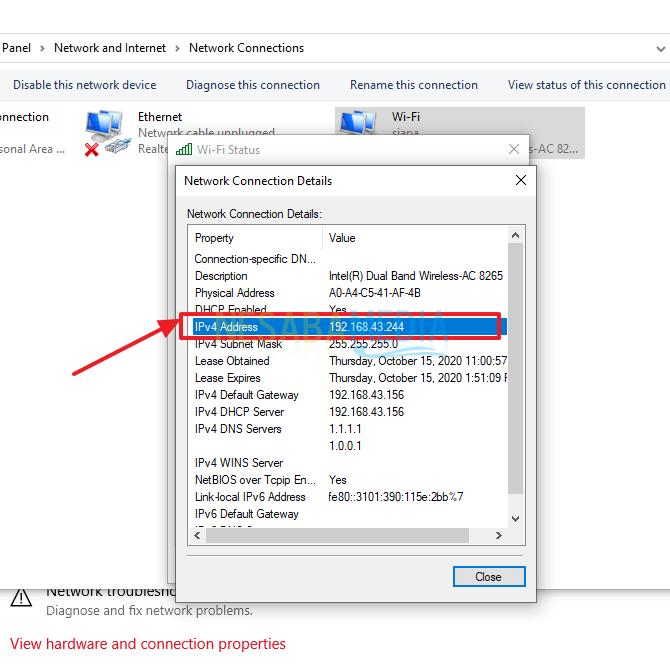 sharing file di windows 10