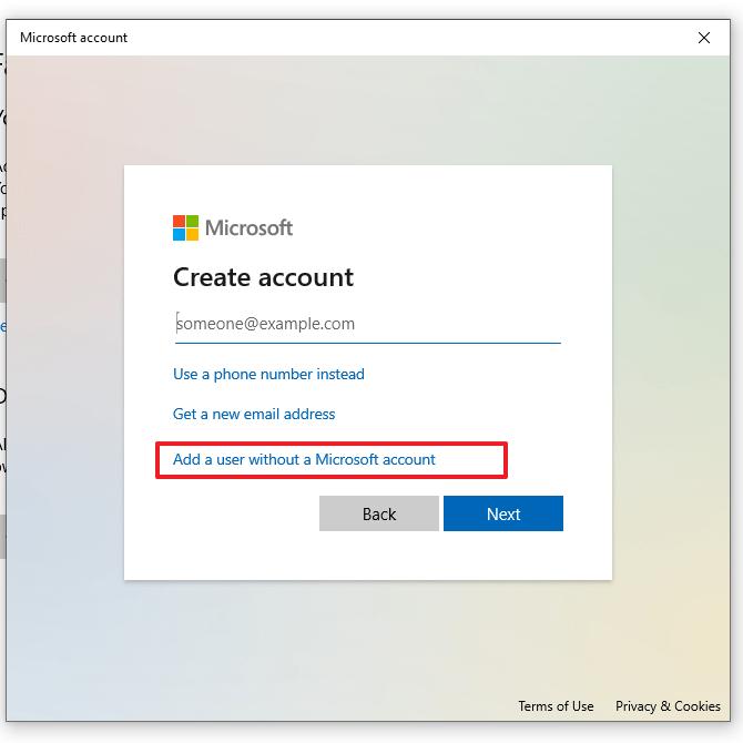 membuat 2 user di Windows 10