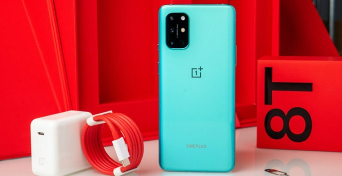 Tampilan OnePLus 8T Smartphone Android